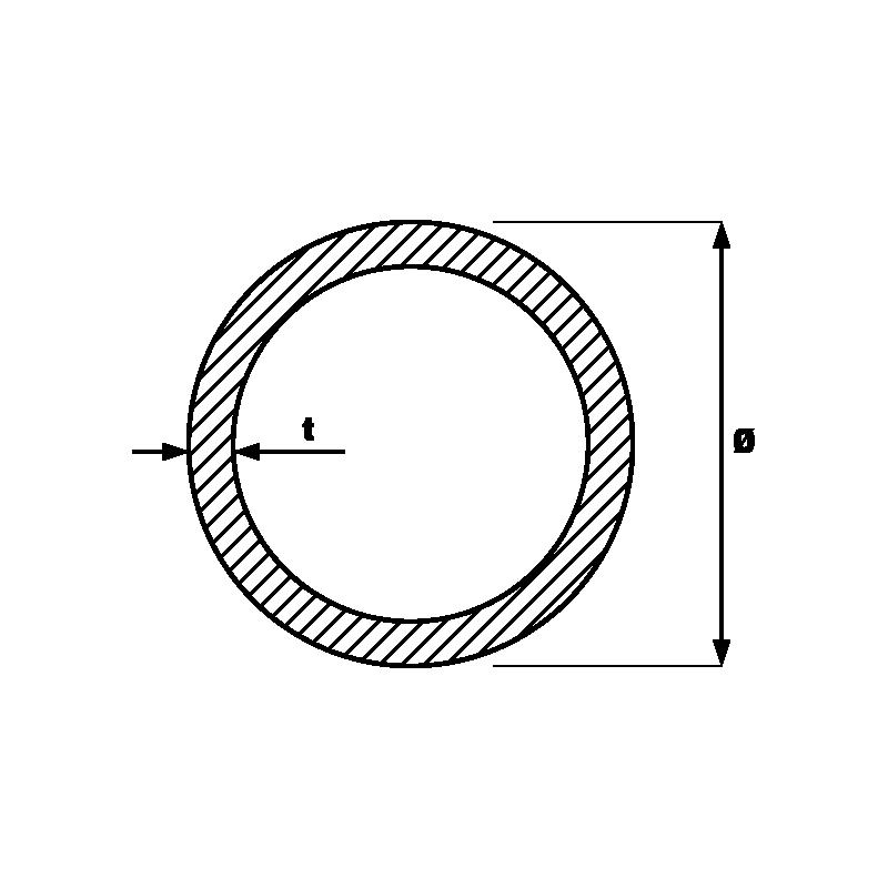 Tevi negre sudate longitudinal pentru instalatii
