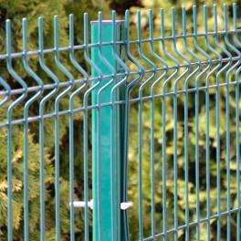 Stâlp de gard vopsit